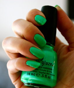 china glaze in the limelight