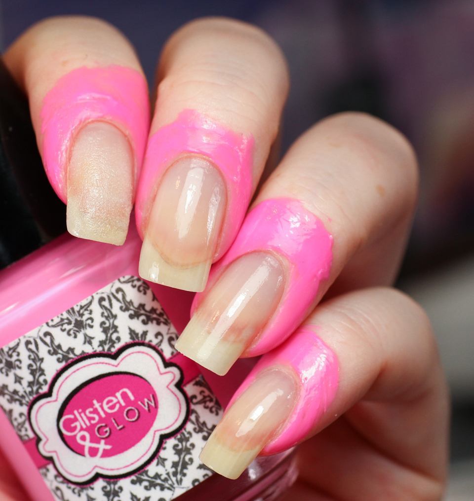 glisten and glow ctrl+alt+del latex barrier