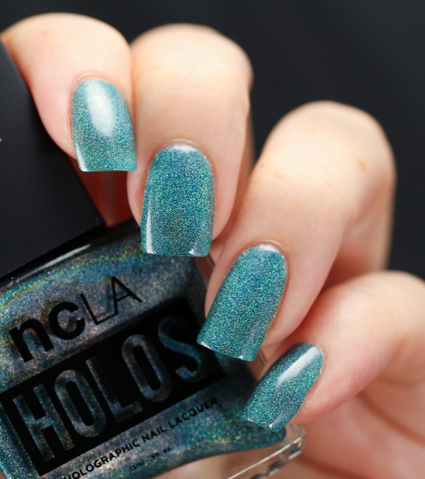 NCLA Drop of Teal, 2 coats