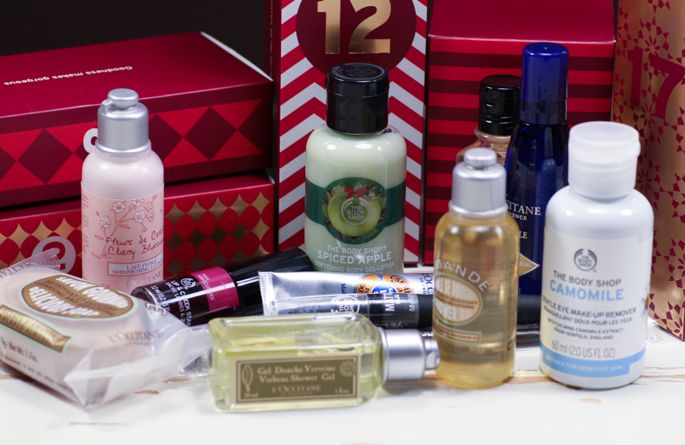 joulukalenteri 2018 the body shop L'Occitane ja The Body Shop  joulukalenterit, viikko 3 | Wasting  joulukalenteri 2018 the body shop