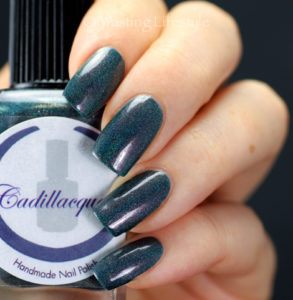 Cadillacquer Day Is Gone swatch