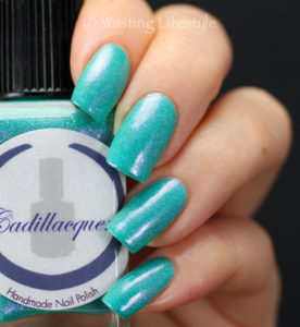 Cadillacquer The Rest Is Silence swatch