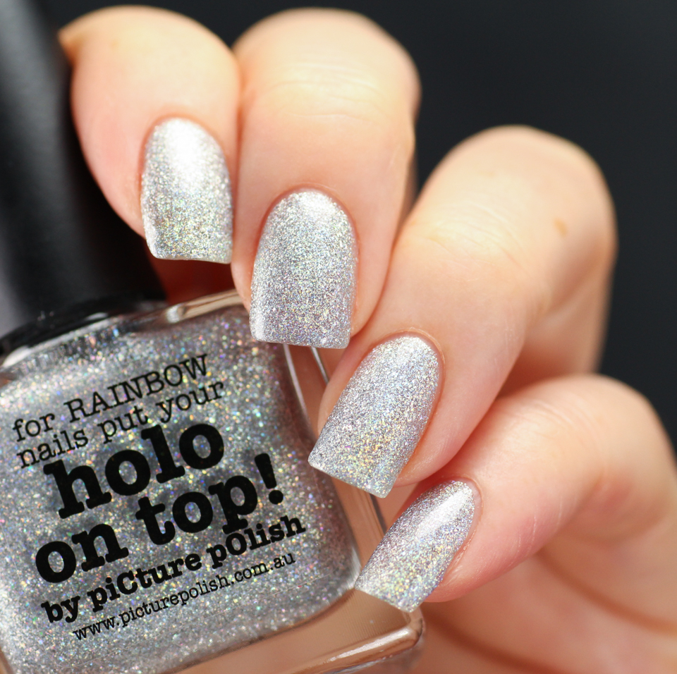 picture polish holo on top swatch