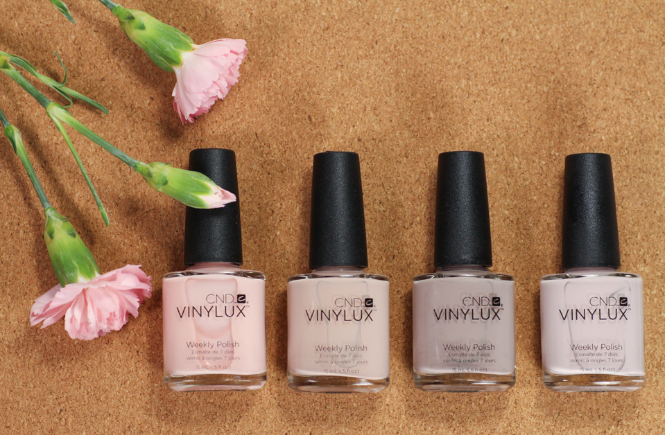 cnd vinylux nude collection